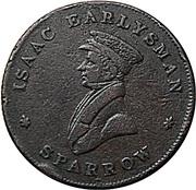 1 Farthing - Ironmonger Bishopsgate London – obverse