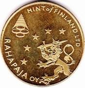 Token - Mint of Finland (Lapin Kultaa; 2003 coin set) – reverse