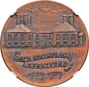 Dollar - Robert E. Lee Birthplace (Stratford, Virginia; Type I) – reverse