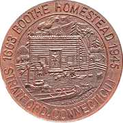 So-called-dollar - Boothe Homestead (Statford, CT) – obverse