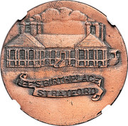 Dollar - Robert E. Lee Birthplace (Stratford, Virginia;  Type II) – reverse