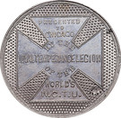Dollar - Frances E. Willard (Women's Christian Temperance Union) – reverse