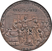 Dollar - Frances E. Willard (Women's Christian Temperance Union) – reverse