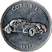 Token - Shell (Cord 812 1937) – obverse