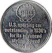 Token - Shell (Cord 812 1937) – reverse