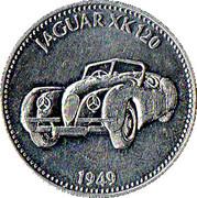 Token - Shell (Jaguar XK 120 1949) – obverse