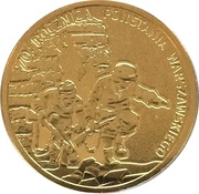 Token - 70th Anniversary of Warsaw Uprising – obverse