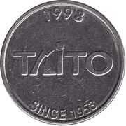Token - Taito (For Amusement Expert) – reverse