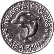 Amusement Token - Dolphin – obverse