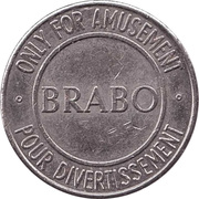 Amusement Token - Brabo – obverse