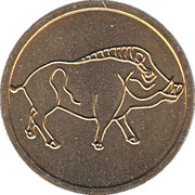 Token - Year of the Pig – obverse