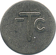 Telephone Token - GTS Yantar (Kaliningrad) – reverse