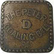 Token - The Peter Coaling Co. Ltd. – obverse