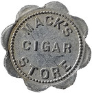 25 Cents - Mack's Cigar Store – obverse