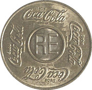 Vending Machine Token - Coca-Cola (RE - Recife, Pernambuco) – obverse