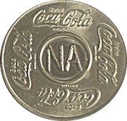 Vending Machine Token - Coca-Cola (NA - Natal, Rio Grande do Norte) – obverse