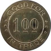 1 Dollar - A. Bengston (Falun, KS) – reverse