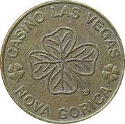 Token - Casino Las Vegas (Nova Gorica) – reverse