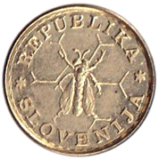 0.10 Lipe (Lipa Holding, Ljubljana Series) – obverse
