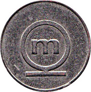 Token - Metalka coffee – obverse