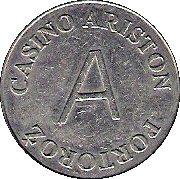 Token - Casino Ariston (Portorož) – reverse