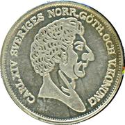 Token - Carl XIV (Helsingborg 1085-1985) – reverse