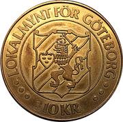 10 Kronor - Goteborg – reverse