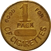 1 Pack of Cigarettes – obverse
