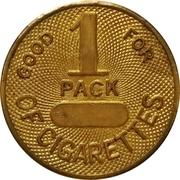 1 Pack of Cigarettes – obverse