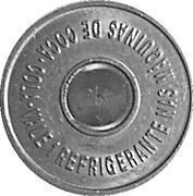 Vending Machine Token - Coca-Cola (SP - São Paulo, São Paulo; unifacial acronym) – reverse
