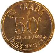 50 Cents - J.B. Marlnee – reverse