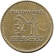 Car Wash Token - Autowash Hypromat (32 mm) – obverse