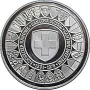 Token - Switzerland Canton Union (Rütlischwur Anniversary) – obverse