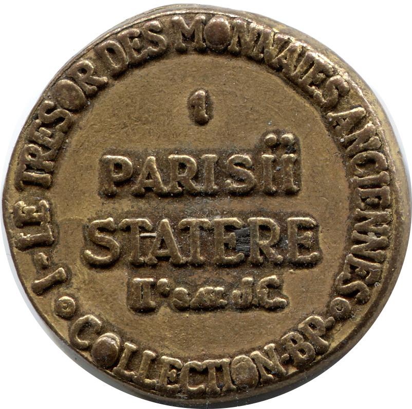 collection bp le tr sor des monnaies anciennes n 1 parisii statere jetons numista. Black Bedroom Furniture Sets. Home Design Ideas