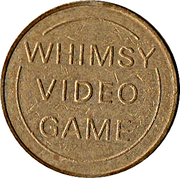 Token - Whimsy Video Game – obverse