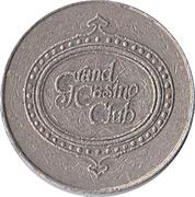 Token - Grand Casino Club – obverse