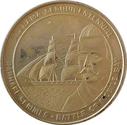 Token - Alabama Sesquicentennial (Battle of Mobile Bay) – obverse