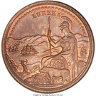 Dollar - California Midwinter Exposition (Official Medal) – obverse
