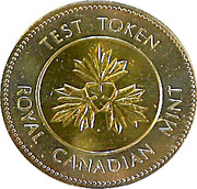 Royal Canadian Mint Test Token – reverse