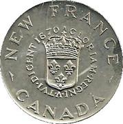 Token - Tercentenary Of Canadian Coinage (1670-1970) – reverse