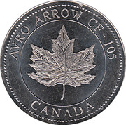 Token - 40th anniversary of the roll-out – reverse