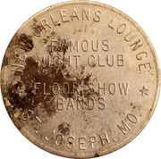 1 Dollar - New Orleans Lounge – obverse