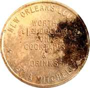 1 Dollar - New Orleans Lounge – reverse
