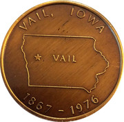 Token - Vail Iowa – reverse