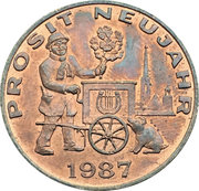 New Year Lucky Token - Sacher – obverse