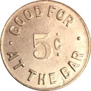 5 Cents - Rapp's Tavern (Buffalo, NY) – reverse