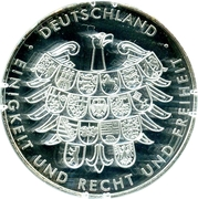 Token - Germany at the Summer Olympics in London 2012 – reverse