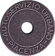 Bus Token - Piacenza – reverse