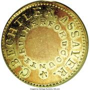 5 Dollars - C. Bechtler (North Carolina Gold) – obverse