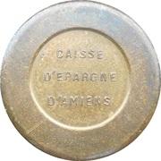 Token - Caisse d'Epargne d'Amiens – obverse